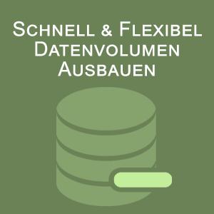 Datenvolumen Ausbauen